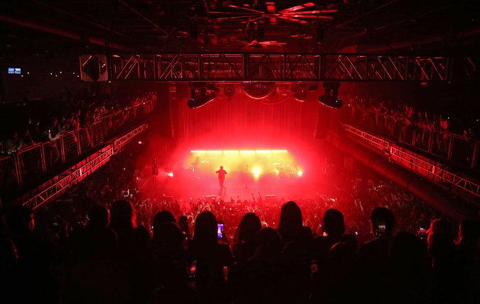 In Las Vegas, Live Music for the Coachella Crowd